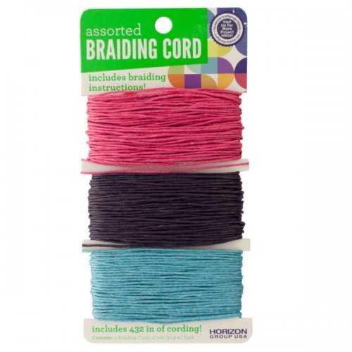 Braiding Craft Cord Set (pack of 30)