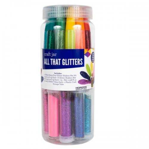 All That Glitters Craft Embellishment Jar (pack of 8)