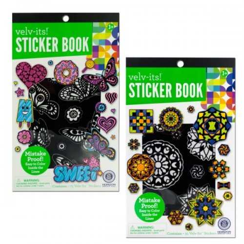 Velv-its Sticker Book Assortment (pack of 20)