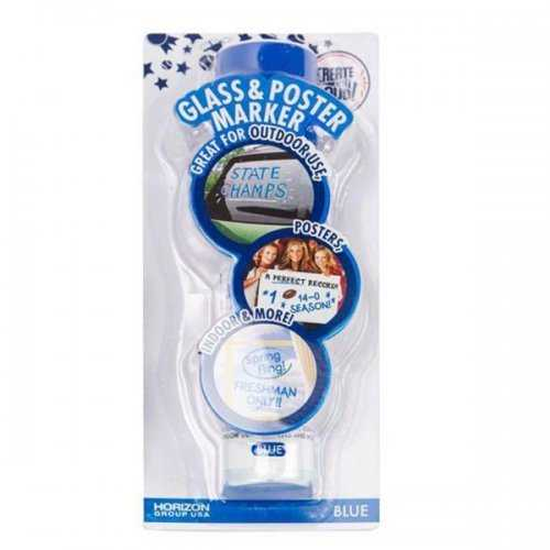 Blue Glass & Poster Marker (pack of 20)