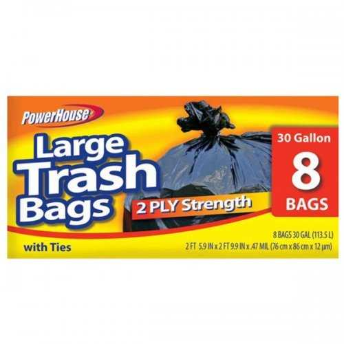 Large Trash Bags Set (pack of 20)