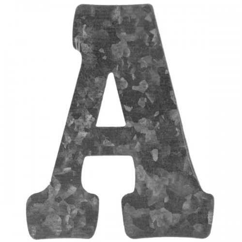 Craft Metal Letter 'a' Hanging Wall Decoration (pack of 72)