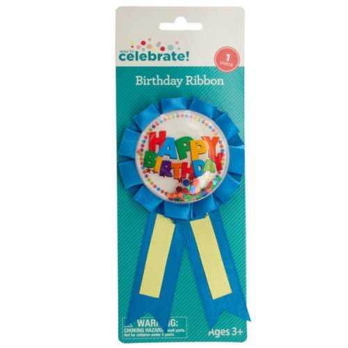 Birthday Ribbon With Confetti (pack of 36)