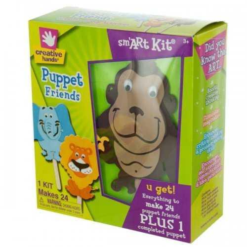Sm'art Puppet Friends Foam Craft Kit (pack of 12)