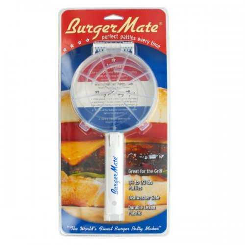 Burger Mate Perfect Patty Maker (pack of 6)