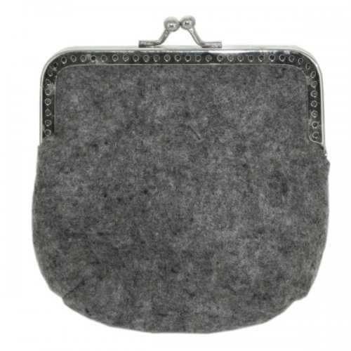 Feltables Charcoal Coin Purse (pack of 24)