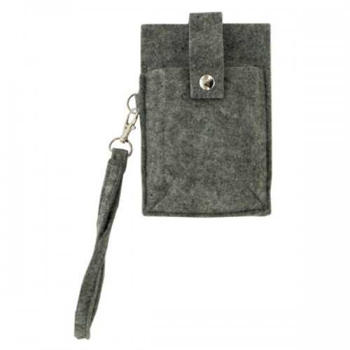 Feltables Charcoal Id Phone Wristlet (pack of 24)