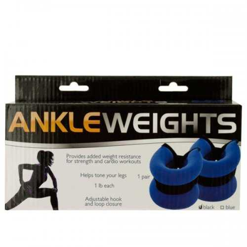 1 Pound Adjustable Ankle Weights (pack of 4)