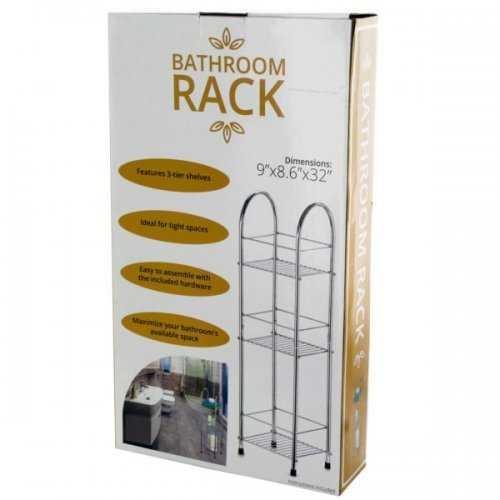 3-tier Bathroom Rack (pack of 1)