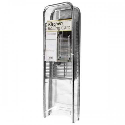 4-tier Large Rolling Kitchen Cart (pack of 1)