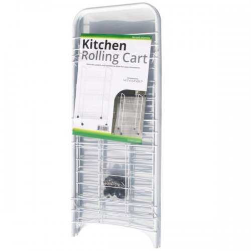 Small 3-tier Rolling Kitchen Cart (pack of 2)
