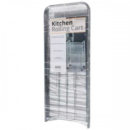 3-tier Small Rolling Kitchen Cart (pack of 2)