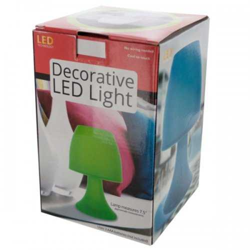 Decorative Led Table Lamp (pack of 6)