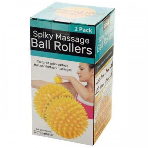 Spiky Massage Ball Rollers Set (pack of 6)