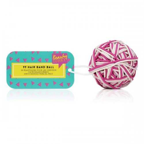 99 Hair Band Ball Pink (pack of 24)