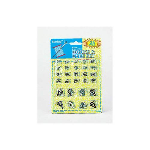 28 Pack Sewing Hook And Eye Set (pack of 24)