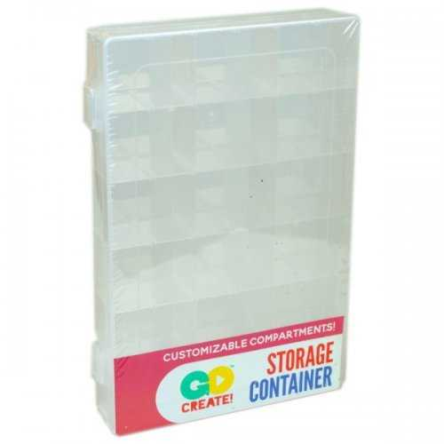 Go Create! Stackable Storage Container (pack of 12)
