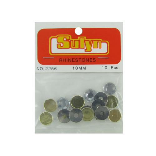 10 Pc 10mm Rhinestones (pack of 24)