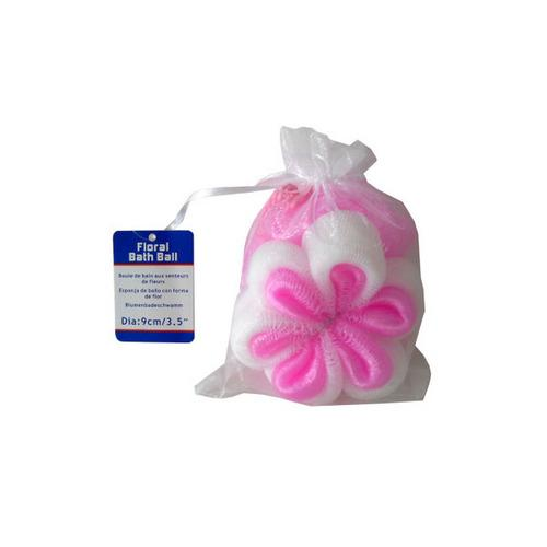 Floral-shaped Bath Scrubber (pack of 24)