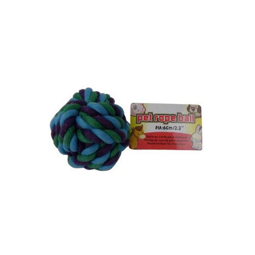 Dog Rope Ball (pack of 24)