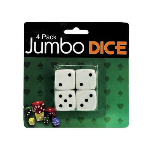 4 Pack Jumbo Dice (pack of 24)