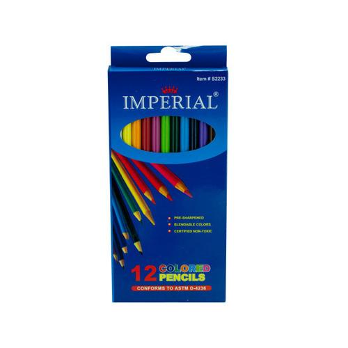 12 Pack Colored Pencils (pack of 12)