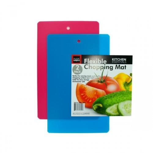 2 Pack Flexible Chopping Mats (pack of 12)