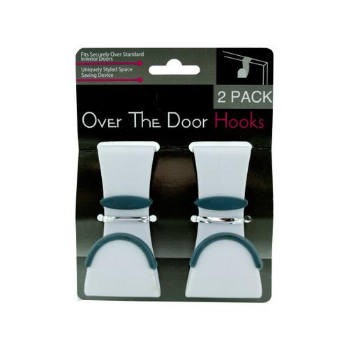 2 Pack Over The Door Hooks (pack of 24)