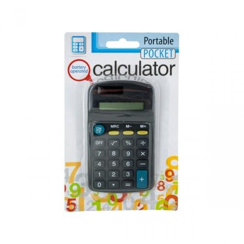 Battery Operated Calculator (pack of 12)