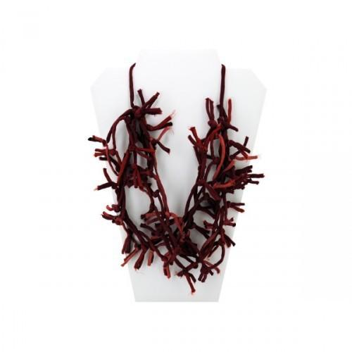 Red Knotted Necklace (pack of 12)