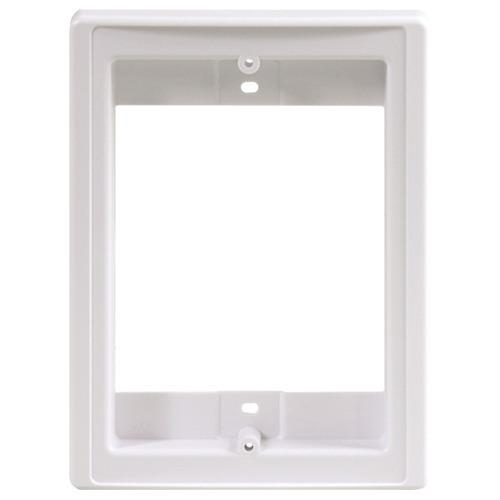 M&s Systems Retrofit Frame & Finish Out For Door Speaker (pack of 1 Ea)