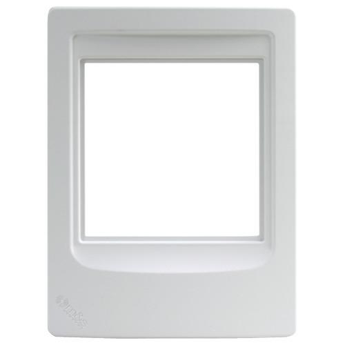 M&s Systems Indoor Remote Room Station Frame (pack of 1 Ea)