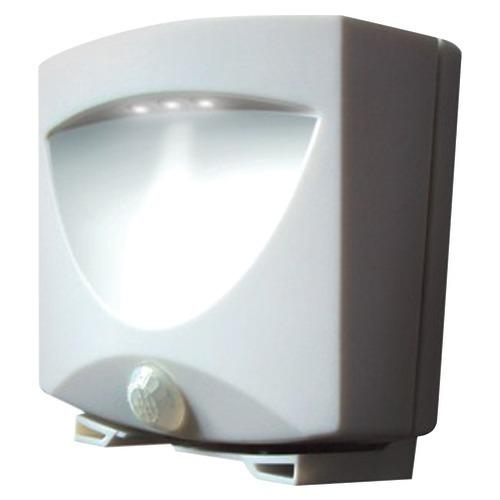 Maxsa Innovations Battery-powered Motion-activated Outdoor Night Light (white) (pack of 1 Ea)