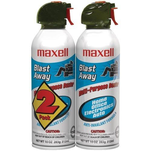 Maxell Blast Away Canned Air (2 Pk) (pack of 1 Ea)