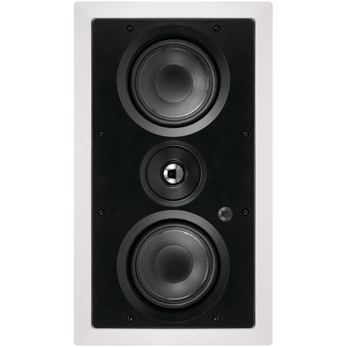 "Architech Dual 5.25"" 2-way Lcr In-wall Loudspeaker (pack of 1 Ea)"