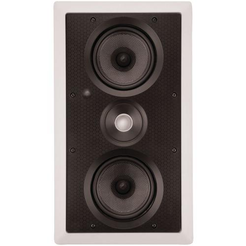 "Architech Dual 5.25"" Kevlar Lcr In-wall Speaker (pack of 1 Ea)"