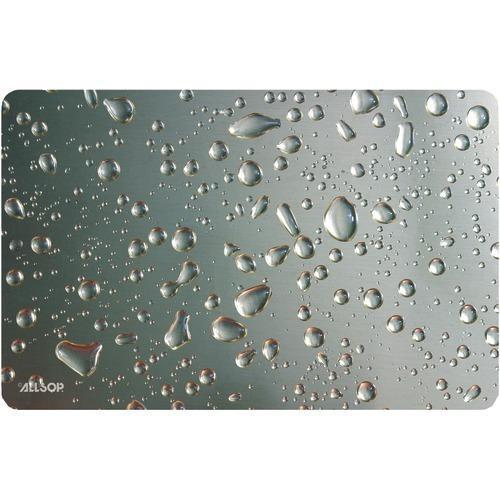 Allsop Widescreen Metallic Raindrop Mouse Pad (pack of 1 Ea)