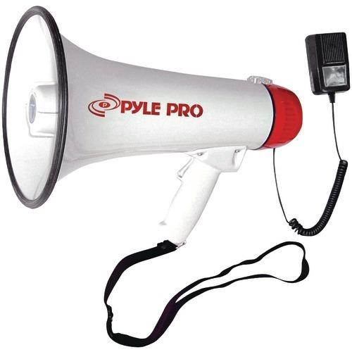 Pyle Pro Professional Megaphone And Bullhorn With Siren & Handheld Microphone (pack of 1 Ea)
