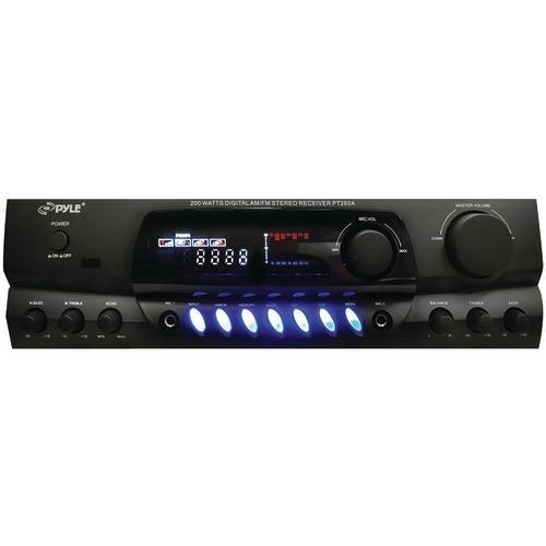 Pyle Home 200-watt Digital Stereo Receiver (pack of 1 Ea)