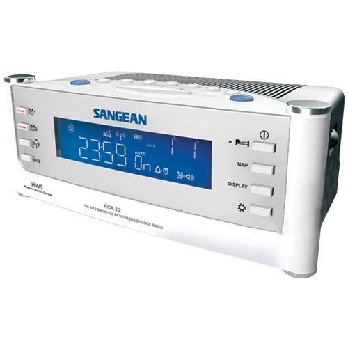 Sangean Am And Fm Atomic Clock Radio With Lcd Display (pack of 1 Ea)
