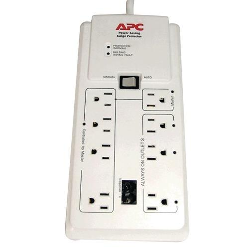 Apc 8-outlet Energy-saving Surge Protector (pack of 1 Ea)