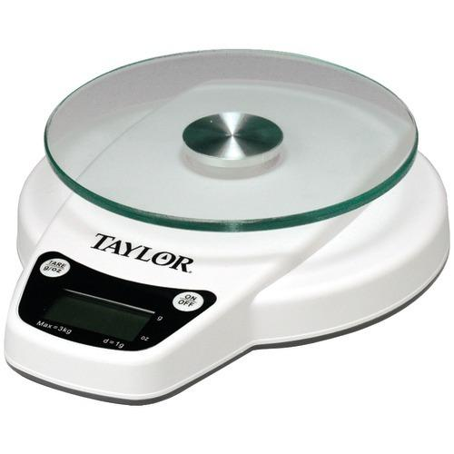 Taylor 6lb Capacity Digital Kitchen Scale (pack of 1 Ea)