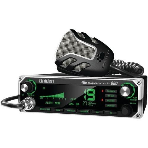 Uniden 40-channel Bearcat 880 Cb Radio With 7-color Display Backlighting (pack of 1 Ea)