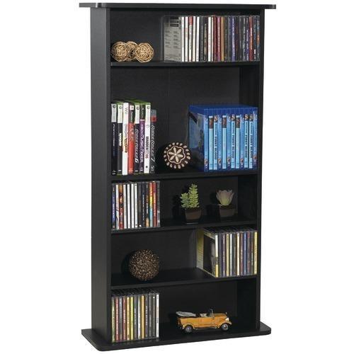 Atlantic Drawbridge Cd & Dvd Multimedia Cabinet (pack of 1 Ea)