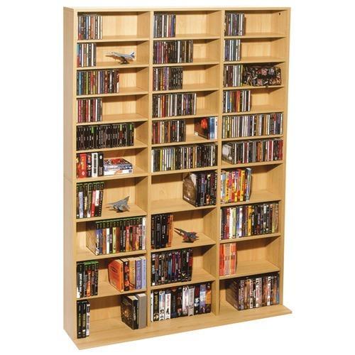 Atlantic Oskar 1,080-cd Multimedia Storage Cabinet (pack of 1 Ea)