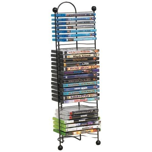 Atlantic 32-dvd And Blu-ray Disc Nestable Tower (pack of 1 Ea)