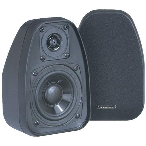 "Bic Venturi 3.5"" Bookshelf Speakers (black) (pack of 1 Ea)"