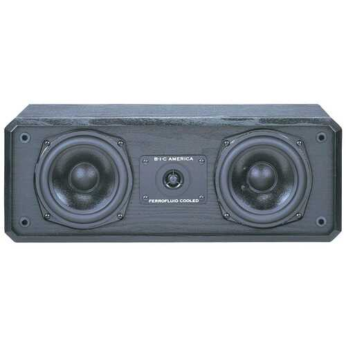 "Bic Venturi 5.25"" Center Channel Speaker (pack of 1 Ea)"