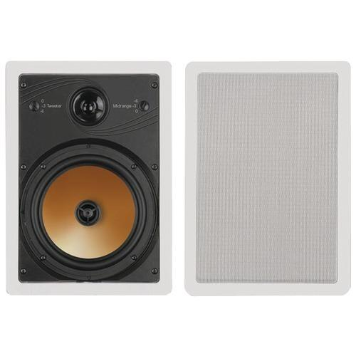 "Bic America 8"" 3-way Acoustech Series In-wall Speakers (pack of 1 Ea)"