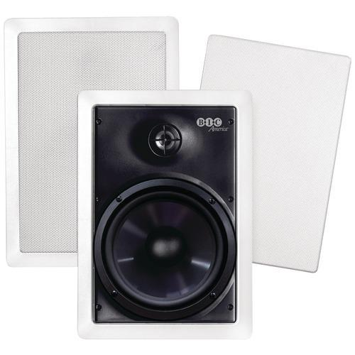 "Bic America 6.5"" Weather-resistant In-wall Speakers (pack of 1 Ea)"